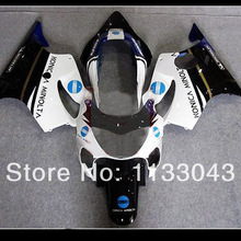 CJMYOO 100Fit White Black Fairing Parts For HONDA CBR600 F4 99 00 CBR600F4 CBR 600