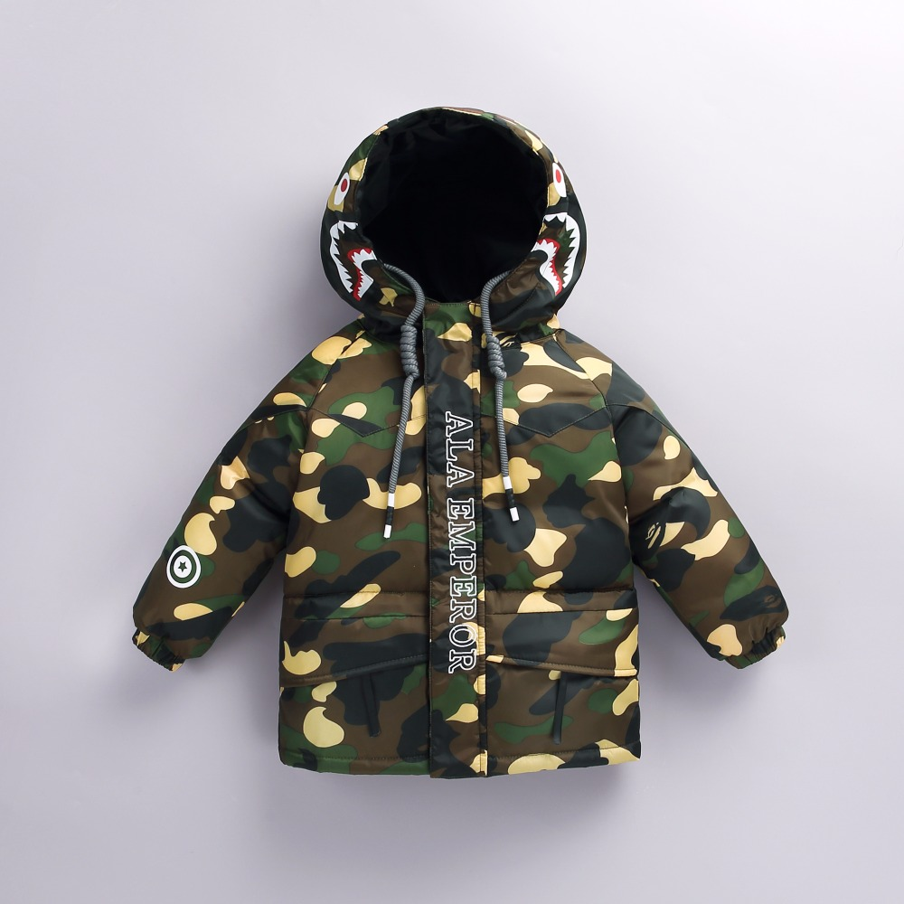 Baby clothes down jacket new winter men and women baby baby thick Korean version of the long paragraph down jacket