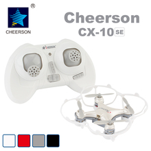 CHEERSON RC Mini Drone Toys Classic Pinkycolor CX-10SE CX10SE 2.4G RC 4CH 6 Axis Mini RC Quadcopter with LED Lights RTF Dron Toy(China)