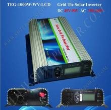 DC 45V-90V to AC Solar Power 1000W Grid Tie PV Inverter With LCD