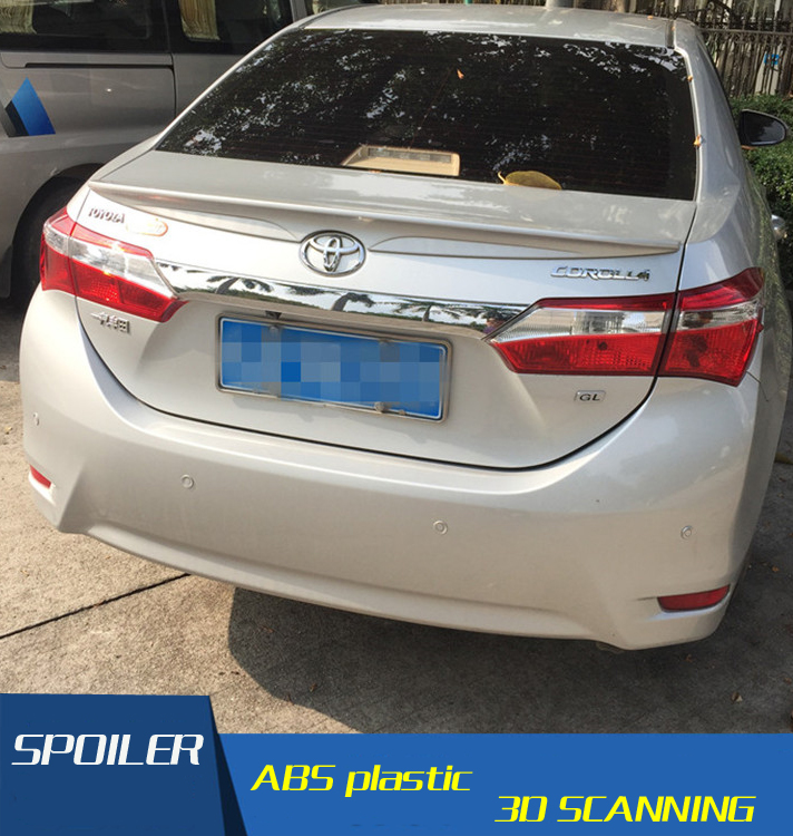 Factory Style Spoiler Wing ABS for 2014-2017 Toyota Corolla Spoilers European