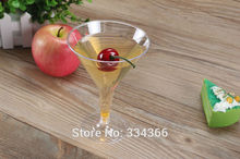 100Pcs/Lot Plastic Wine Cup Disposable Plastic Drinkware 2OZ Clearware Cake Tools Shot Glas Cup FREE SHIPPING(China)