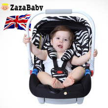 UK brand Zazababy newborn infant baby car safety seat basket-style baby auto seat baby safety basket chair baby protect seat(China)