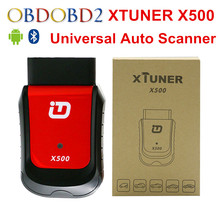 Best XTUNER X500 Bluetooth Special Function Diagnostic Tool Works With Android Phone Free Shipping(China)