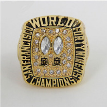 Wholesale Super Bowl 1984 San Francisco 49ers Zinc Alloy Custom Sports Replica World Championship Ring for Fans(China)