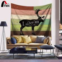 Home Textile Deer Teddy Bear NVR Eagle Yak Wolves Tapestry Wall Hanging Tapestry Toallas de Playa 2017 Summer Beach Towel