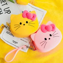 Hello Kitty Women Coin Purse Cute Printing Ladies Small Purse Coin  Pocket Coin Pouch Silicon Wallet For Children