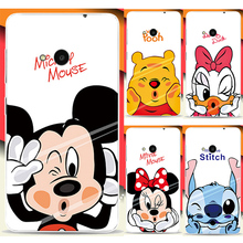 High Quality PC Hard Plastic Cases Para For Microsoft Nokia Lumia 535 Cute Cartoon Minnie Mickey Phone Case Cover Capinhas Shell