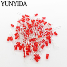 3mm LED  Red Green BLue Yellow Orange White  light emitting diode  100 PCS/LOT
