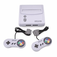 Classic For SNES TV Video Game Console Double Free Game Handle Controller Professional Home Gamepad Gift (European Version)