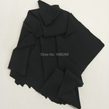 Antibacterial stretch fabric Black Copper fiber used for wrister / yoga clothes(China)