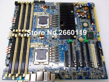 Workstation motherboard for HP Z800 591182-001 460838-003 system mainboard fully tested
