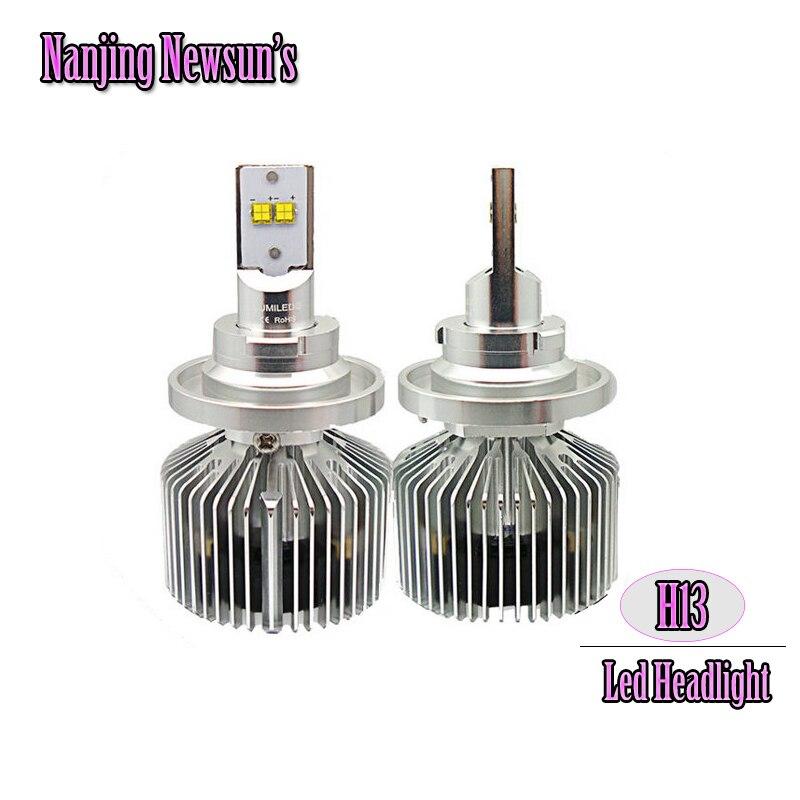 1Set H13 9008  Led Headlight Conversion Kits W/ Driver Hi/Lo High/Low Dual Beam Driving Replacement Bulbs 6000K Super Bright <br><br>Aliexpress