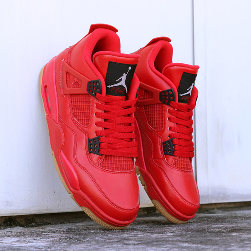 High-Quality-Jordan-Retro-Basketball-shoes-4-Singles-Day-Red-Sneaker-Men-Athletic-Outdoor-Sport-Shoes (3)