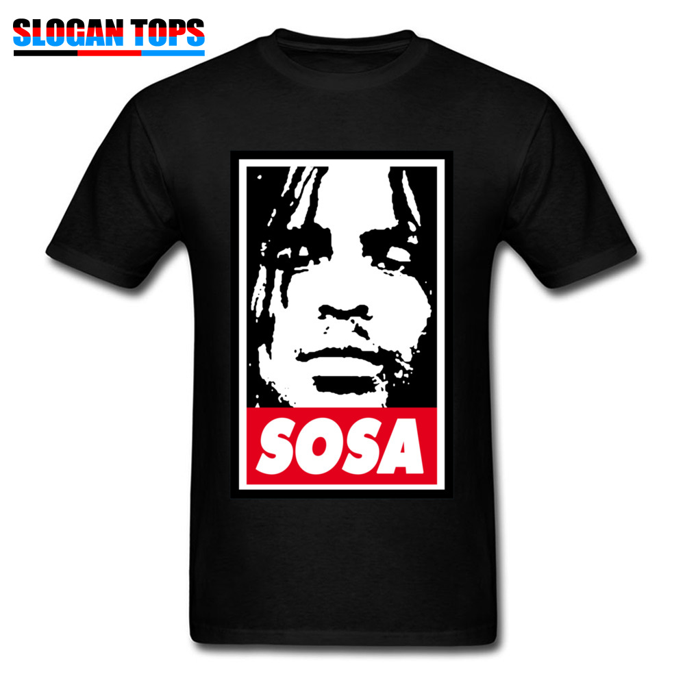 Sosa Chief Keef 1151 Tops Shirts Brand New O Neck Design Short Sleeve All Cotton Men\`s Top T-shirts Street Tees Sosa Chief Keef 1151 black