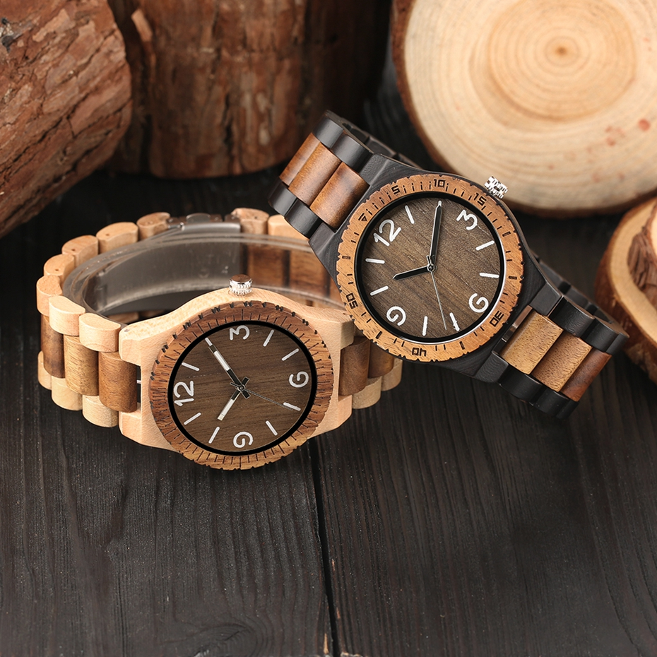 Men\`s Retro Full Wooden Creative Watch Man Quartz Novel Wood Sports Watches Mens Genuine Leather Hour Clock Gifts Reloj Hombre (24)
