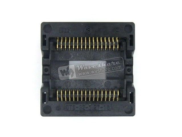 Modules SOP32 SO32 SOIC32 OTS-32-1.27-16 Enplas IC Test Burn-In Socket Programming Adapter 11.25mm Width 1.27mm Pitch<br>