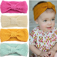 knit crochet turban headband warm headbands hair accessories for newborns hair head bands band hairband kids ornaments