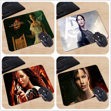 New Design Unique High Quality Desktop Pad Katniss Everdeen the Hunger Games Custom Design Mouse Pads Computer Gaming Mousemats