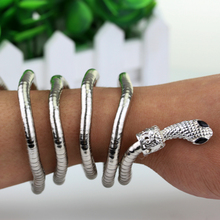 Free Shipping City Of Bones Isabelle Lightwood 's Metal Serpent Bracelet Cool Gift For Men And Women Movie Jewelry