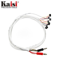 Kaisi Test Wire Repair Tools Original DC Power Supply Phone Current Test Cable for Apple iPhone 7 7 Plus 6 5S 5C 5 4S 4(China)