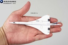 Brand New 1/400 Scale Airplane Model Toy Air France Concorde Airliner Diecast Metal Plane Model Toy For Gift/Collection