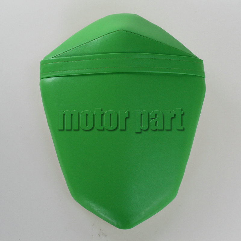 For 2013-2014 Kawasaki Z800 Z 800  Motorcycle Leather Passenger Pillon Rear Seat Green Color 13 14<br>