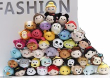 10cm Tsum Tsum Mini Plush Toys Doll Screen Cleaner Dory nemo marvel princess cinderella zootopia fox  Tsum Keychain Pendant