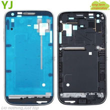 Free shipping Genuine New Black color For Samsung Galaxy S2 GT-I9100 Front Housing With Middle Plate Housing Cover