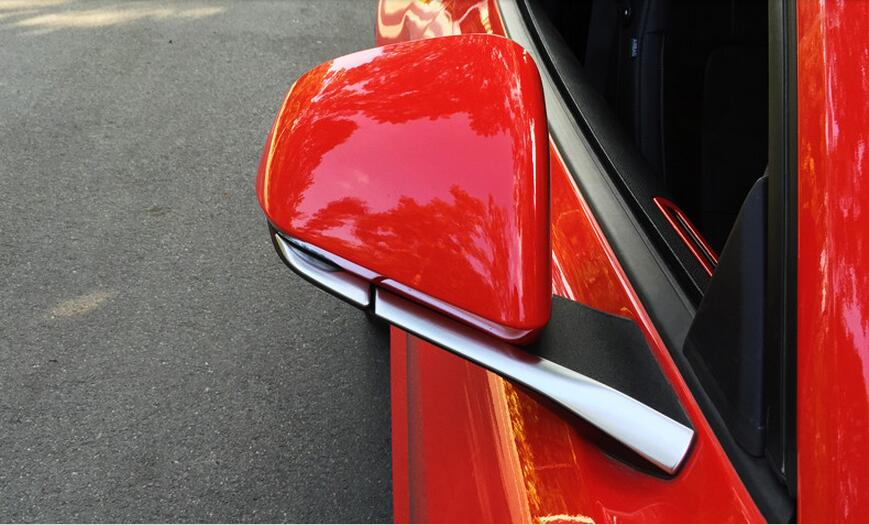 side mirror trim for Ford Mustang car accessories (3)