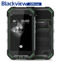 Blackview BV6000 IP68 Waterproof MTK6755 Octa Core Smartphone 3G RAM 32G ROM 13MP Mobile Phone 4.7 inch Android 6.0 Cell Phone(China)