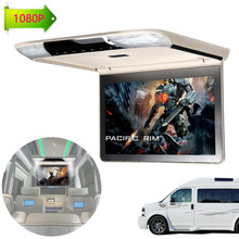 Full HD 1920*1080 11.6 inch Car Roof Mount Overhead Monitor for Car Ceiling Touch Button Video Player Screen FM HDMI IR NO DVD(China)