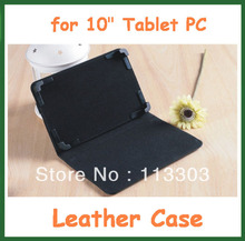 "10pcs Universal 10 inch PU Leather Case for 10"" Tablet PC PiPO M3 Ampe A10 Sanei N10 U30GT Yuandao N101 Ainol Hero II"
