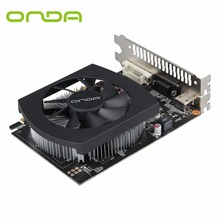 Original Onda GTX750Ti 4G GDDR5 128bit Graphics Card With HDMI+VGA+DVI and Cooling Fan Support High Definition Video(China)