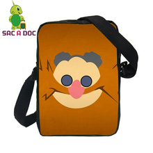 Women Men Mini Messenger Bags Anime Sonic Eggman Printing Crossbody Bag Boys Girls Small Travel Shoulder Bags(China)
