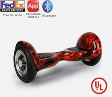 UL2272 Approved 10inch hoverboard Electric self-balancing scooter hoverboard Bluetooth China Dropship