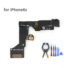 Front Camera Flex Cable For the iPhone6s Sensor Flex Cable Spare Parts Replacement for iphone 6S smart cellphone devices(China)