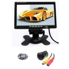 7 Inch Colorful Display TFT LCD Screen Car Monitor Video Input Backlight Waterproof and Night Vision CMOS/CCD Parking Camera(China)