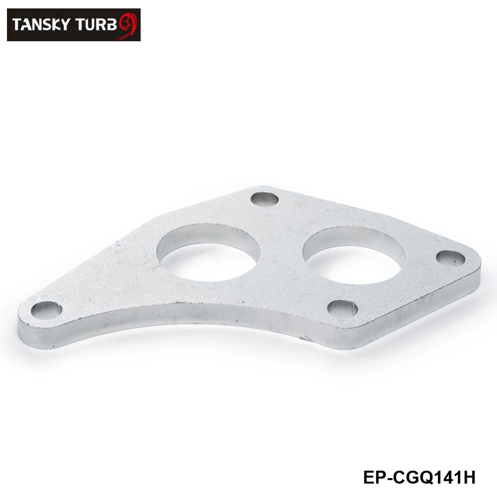 TANSKY -Turbo Inlet Flange For Subaru Sti Twin Scroll VF36 VF37 Up-Pipe EP-CGQ141H