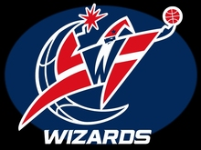 Washington Wizards customized basekateball flag bright color 3x5FT Digital Printing 100D Polyester  with sleeve two metal Brass