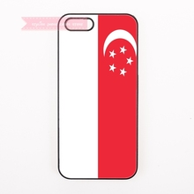 For Samsung Galaxy S3 s4 s5 mini active s6 s7 edge plus Note 3 lite neo 4 5 7 cases Coat of arms of Singapore flag Emblem