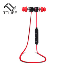 Buy TTLIFE Original Wireless Headset Bluetooth 4.1 stereo Ear Phone headphones earphone Sport Bluetooth Headphone iPhone Samsung for $21.56 in AliExpress store