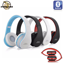 Bluetooth HiFi Headphone Heavy Bass Wireless Earphone Stereoa Headset For Music Movie With 3.5mm Jack Line For Computer Phone(China)