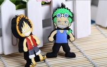 Bestselling One piece family cartoon model Luffy usb flash drive 8GB 16GB 32GB usb flash memory stick pen drive on sale S343(China)