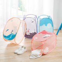 Foldable laundry basket cartoon large-capacity Dirty clothing organizer storage container box for toys organizador bag for cloth