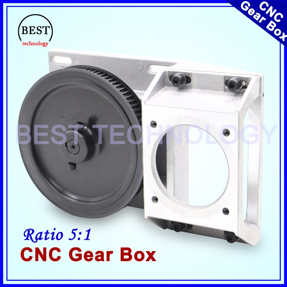 CNC Gear Box Ratio 5:1 suitable Gearbox Helical teeth/ Straight teeth gearbox 1.25 module synchronous wheel reducer box 1.25M<br>
