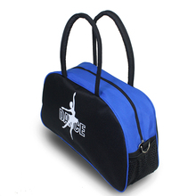 Lady Girls Ballet Bag Black With Blue Canvas Big Tote Adult Yoga Dance Bags for Women Ballet Dance Costume Hand Bag(China)
