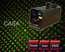 New product Stage light 50mW green laser+100Mw red laser dj mixing dj equipment(China)
