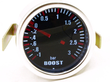 "3.0 BAR 2""52MM Mechanical Turbo Boost Car Gauge Meter Auto White LED Universal(China)"