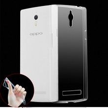 MLLSE Ultrathin Clear Transparent TPU Gel Soft Case For OPPO Mirror 3 Find 7 A53 A31 A51T R5 A33 A39 A59S Cover Protective case(China)